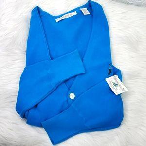 John Ashford Golf Cartigan Sweater Large